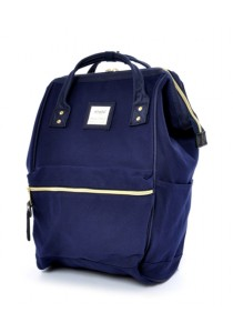 Anello Cotton Backpack (Navy)