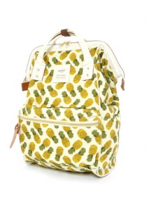 Anello Cotton Backpack (Pineapple)