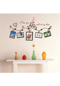 OEM - Family Photo Frame Wall Stickers