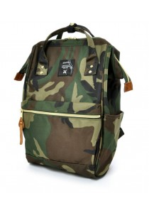 100% Authentic Anello - Classic Backpack Camo Regular Size