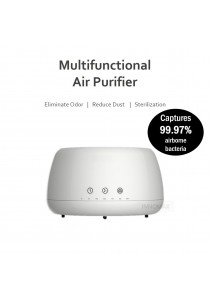 Multi functional Air Purifier Aroma Diffuser with HEPA Filter - Clear Odour PM2.5 Eliminate Bacteria Virus