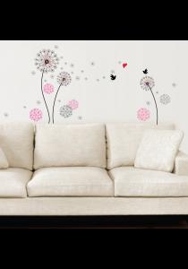 Walplus - Small Dandelion Wall Stickers