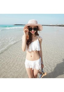 White Lace Bikini