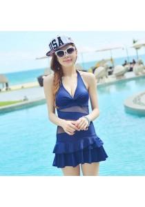 Blue Bikini Dress
