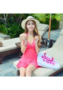 Pink Bikini Dress