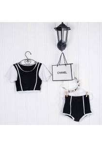 Classic Sporty Match Bikini B0044A