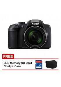 Nikon Coolpix B700 + 8gb SD Card + Coolpix Case
