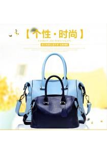 Alpha Living Fresh Fashion Vintage Boston Bag Lady Handbag (BAG0016)
