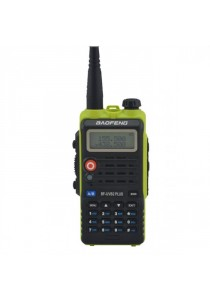 Baofeng UVB2 Plus 8W VHF/UHF Dual Band Two Way Radio Walkie Talkie  - Green