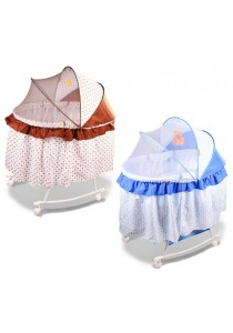 Alpha Living Baby Bed Bassinet Cradle Multifunctional Portable Folding Baby Lounge (BAY0017)