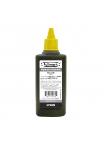 Fullmark Pigment Inkjet Ink 100ml (Yellow) - Compatible with Epson