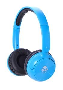 iDance BLUE 100 Wireless Bluetooth DJ Headphone (Blue)