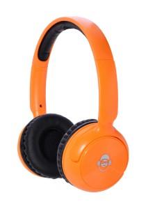 iDance BLUE 100 Wireless Bluetooth DJ Headphone (Orange)