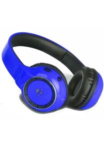iDance BLUE 300 Wireless Bluetooth DJ Headphone (Dark Blue)