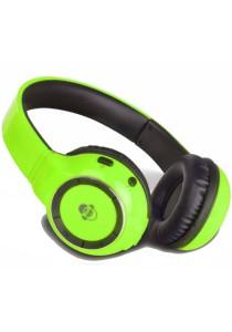 iDance BLUE 300 Wireless Bluetooth DJ Headphone (Lime Green)