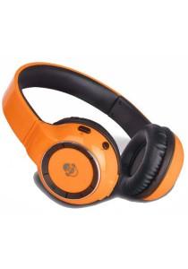 iDance BLUE 300 Wireless Bluetooth DJ Headphone (Orange)