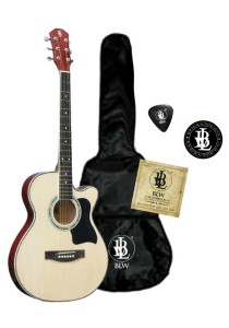 BLW Slimcoustic Acoustic Guitar Package 1 (Natural)