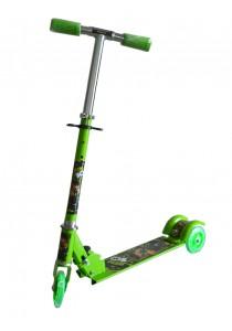 Kid's Adjustable Foldable Scooter - Ben Ten Green