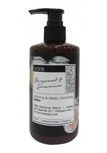 Bare Body Lotion 300ml - Bergamot & Geranium