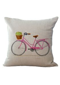 Pillow Case / Cushion Cover - Vintage Bicycle