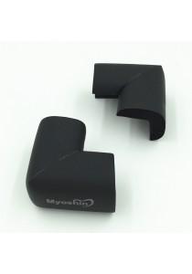 Myoshin Safety Table Corner Edge Protect Cushion (1 set 10 pieces) - 023 (Black)