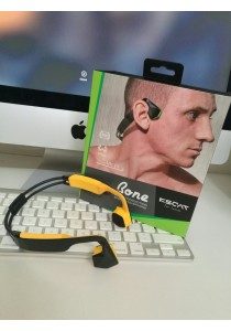 KSCAT Nice 5 Open Ear Bone Conduction Headphone-Yellow
