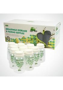 Jingle Jungle Breastmilk Storage Bottle - Hearts (10s)
