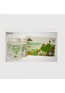 Jingle Jungle Breastmilk Storage Bottle - Hearts (3s)