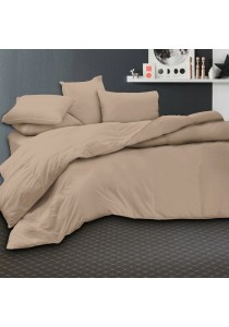 Essina 100% Cotton 620TC Fitted Bed sheet set Candies Collection Burlywood - King