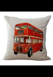 Pillow Case / Cushion Cover - Vintage Bus