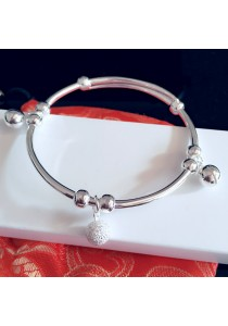 Sterling Silver Bell Charms Bracelet