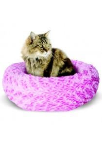 "Catit Style Cat Donut Bed - Rosebud - Pink - Small - 40 cm dia. x 12.7 cm (16"" dia x 5"")"