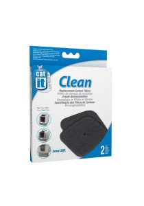 Catit Hooded Cat Pan Replacement Carbon Filters - 2-Packs