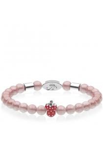 Caron Boutique Cherry Quartz Magnetic Bracelet
