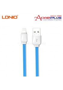 LDNIO Lightning Fast Data & Charge USB Cable 1 Meter (XS-07I)- Blue