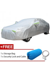 Full Car Cover Thick Waterproof Rain Dust Sunlight Resistant Protection Size 2S