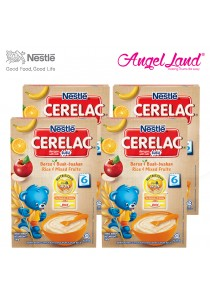 [Best Buy for 4] Nestle Cerelac Rice & Mixed Fruits 6M+ (250G) x4