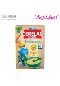 Nestle Cerelac Rice & Mixed Vegetables 6M+ (250G)