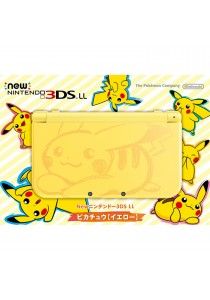 New Nintendo 3DS LL Pikachu Yellow Edition (JPN)