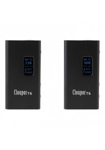 Original Cloupor T6 100W Single 26650 Battery Box Mod - Black
