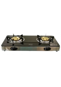 CORNELL 2 Burner Gas Stove (Glass Finished) CGS-G1220