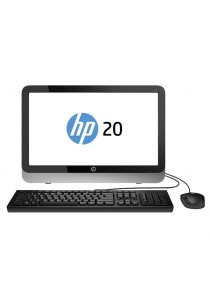 """HP 20-E031d AIO PC Intel Pentium N3700/2GB/5000GB/inte HD Graphics/20""""LED/Win10 All-IN-ONE Computer System Non-Touch (Black)"""