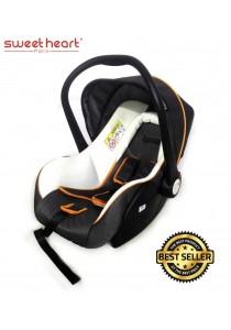 Sweet Heart Paris CS375 Baby Car Seat (White & Grey)