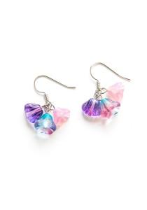 Candylicious Earring Series (Pink Purple) Handmade by Shirleen Jeweliciouss