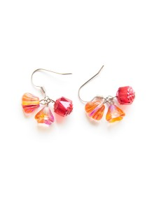 Candylicious Earring Series (Red) Handmade by Shirleen Jeweliciouss