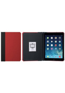 Kuhvuh Memorandum iPad Air - Cardinal (Red & Black)