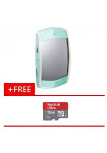 Digital Camera Casio EX-MR1 (Green) + (Free Micro SD Card Ultra 16GB)
