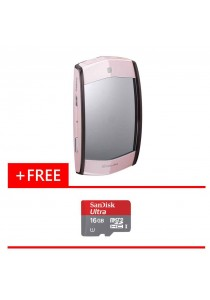 Digital Camera Casio EX-MR1 (Pink) + (Free Micro SD Card Ultra 16GB)
