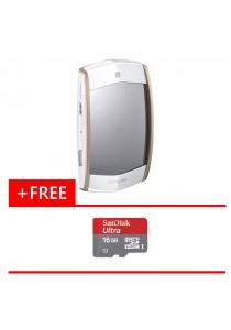 Digital Camera Casio EX-MR1 (White) + (Free Micro SD Card Ultra 16GB)
