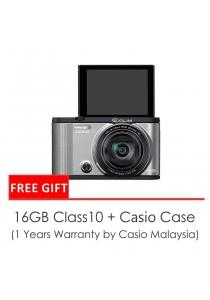 Casio ZR2000 Selfie Camera Silver / Orange + 16gb SD Card + Case (Original Malaysia Warranty)